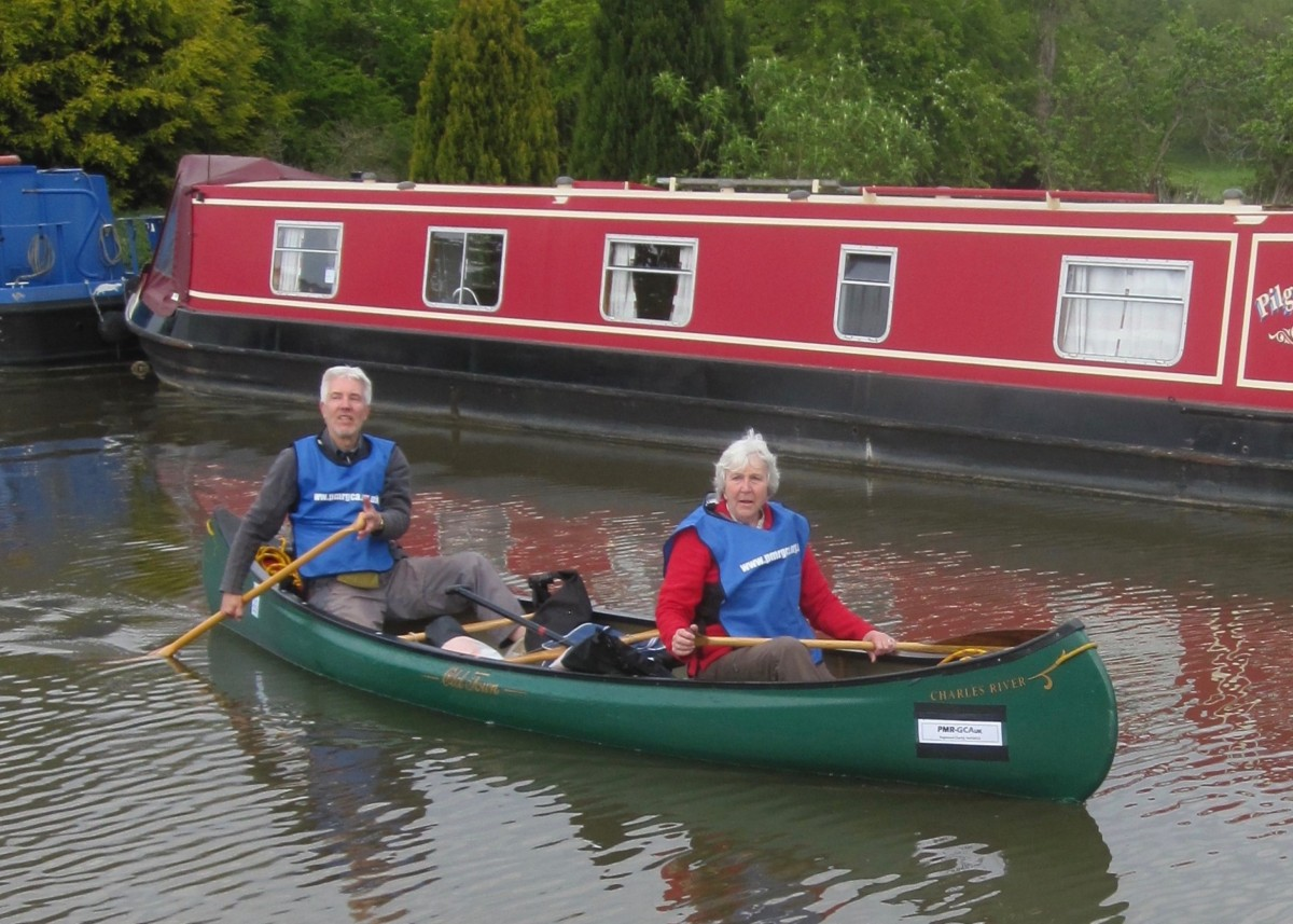 Great Grandmother's 30 mile canoe adventure